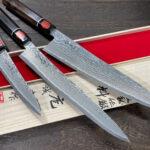Newly in Stock! – Shigeki Tanaka Habakiri R2 Damascus Gyuto, Slicer & Petty