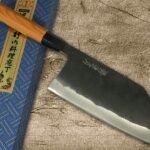 New face released! Tokujyo Supreme Kurouchi Wide Bunka Knife by Sakai Takayuki