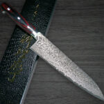 Yoshimi Kato Sophisticated 63 Layer VG10 Damascus Hammered Chef Knife Series