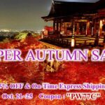 SUPER AUTUMN SALE   25%OFF & On-Time Express Shipping